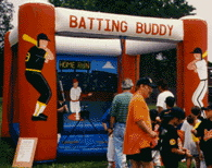 Batting Buddy | inflatable rentals NJ