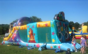 Clown Town | inflatable rentals PA