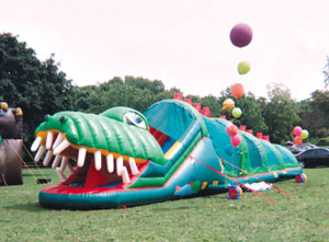 Goofy Gator | inflatable bouncers rentals NJ