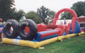 Swamper Stomper | inflatable rental company DE