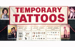 Temporary Tattoos | Carnival Novelty Games Cherry Hill PA