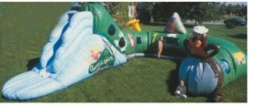 Gorilligan's Inflatable 55' Obstacle Course | Inflatable Rentals NY