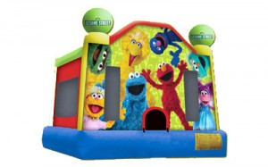 Sesame Street Jump | Inflatable companies in NJ