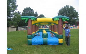 Hawaiian Slip & Slide | inflatable rentals PA