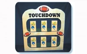 Touchdown Tip | carnival game rentals de