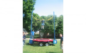 Trampoline Thing | Bungee Trampoline | Spring Fling | Bat Mitzvah Entertainment