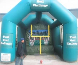 Field Goal Challenge | Party Rentals Delaware
