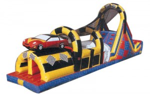 Speedway Challenge | Inflatable Sports Game Rentals