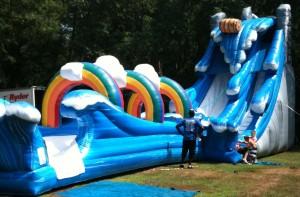 Niagara Water Slide | inflatable rentals PA