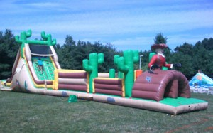 Western Round Up | Rent Inflatables NJ