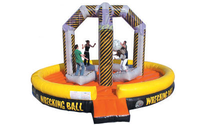 The Wrecking Ball | College Campus Activities - Spring Fling Enertainment