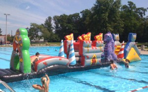 Knight's Castle | inflatable rental company NJ