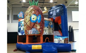 SpongeBob Combo | inflatable bouncers rentals NJ