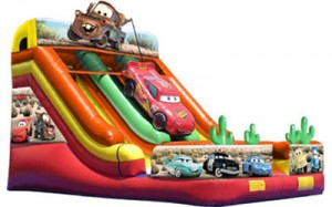 Cars Slide | Water Slides for Rent NJ, PA, MD