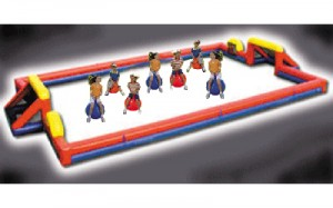 Hip Hop Soccer | inflatable rental company DE