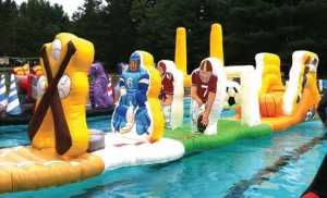 Sportacular Splash | inflatable party rentals NJ