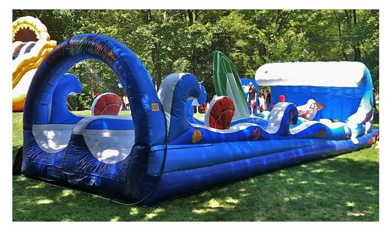 Surf The Wave Inflatable Slip N Slide Watch Video