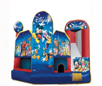 Disney Playhouse Combo Bounce House for Rent