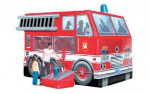 Fire Truck Bouncer | Themed Bounce House Rental New Jersey