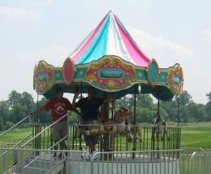 Kiddy Carousel Ride for Rent | Carousel Ride Rental PA, NJ, DE, NY
