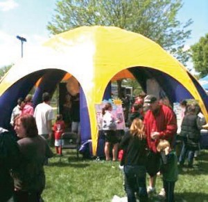 Inflatable Tent Rental | Rent Tent PA, NJ, DE, NY