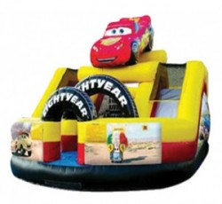 Cars Speedway | Combo Bounce House Rental PA, NY, DE, NJ