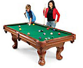 Pool Table Circus Time - Pool table description
