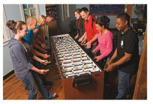 Jumbo Foosball Table | Shooting Games for Rent PA
