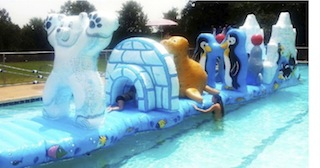 Arctic Splash | Water Slides for Rent NJ, PA, MD