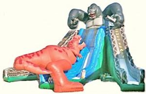 Kongo Krazy 3-Lane Slide   Water Slides for Rent NJ, PA, MD