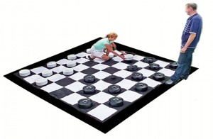 Giant Checkers for Rent | Rent Giant Games