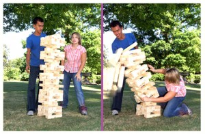 Giant Jenga for Rent NY, PA, NJ, DE, MD