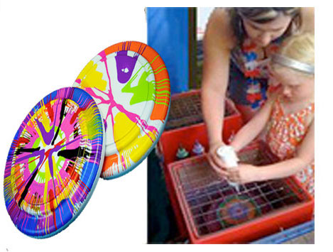 Frisbee-Art