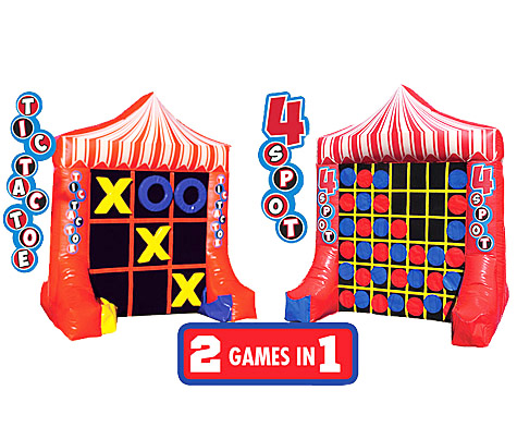 Giant Tic Tac Toe/Connect 4 all in 1